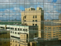 beth-israel-deaconess-medical-center-reflected-boston-ma-usa