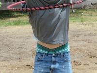 Swinging in a hula-hoop Denver CO